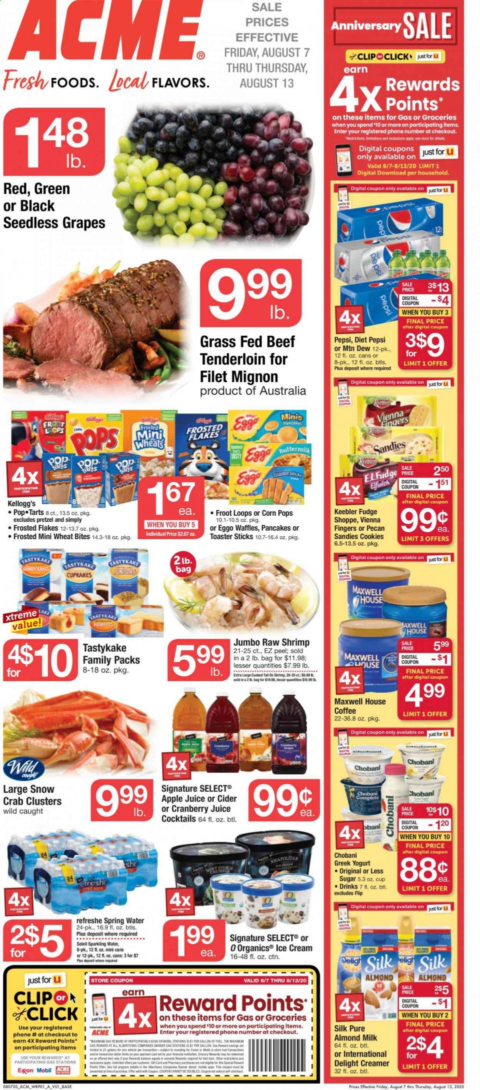 Acme Weekly August Ad valid from Aug 7 – 13, 2020