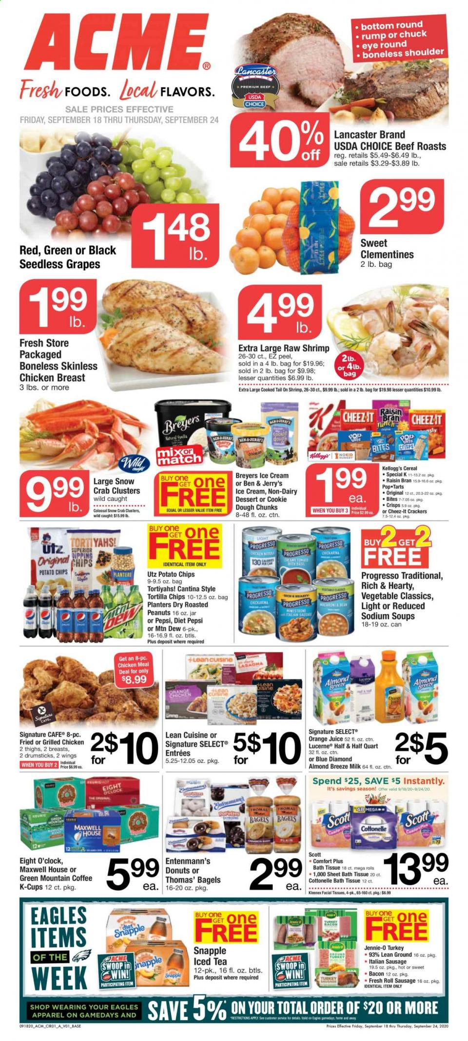 Acme Weekly September Ad valid from Sep 18 – 24, 2020