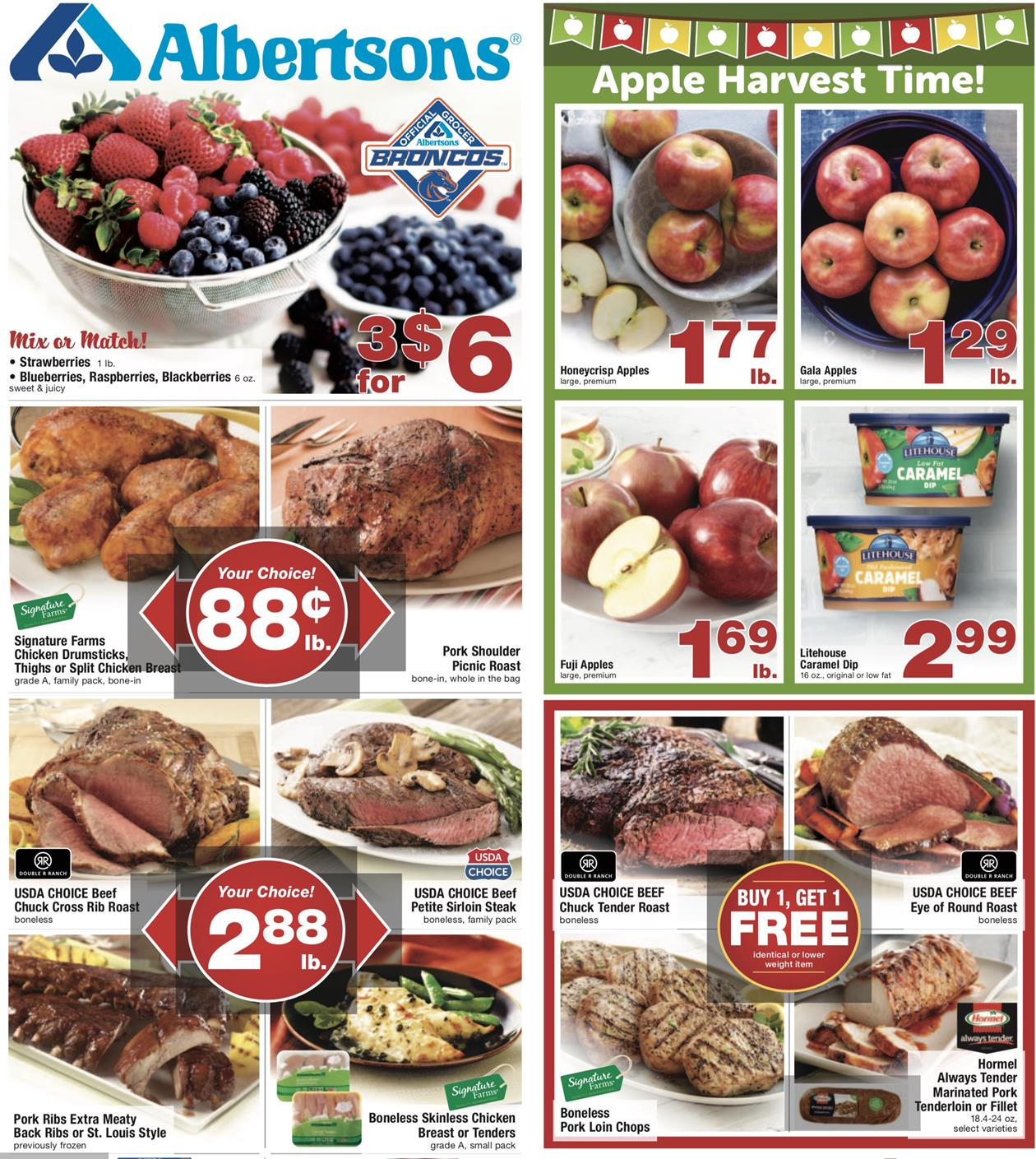 albertsons weekly ad oct 2 2019
