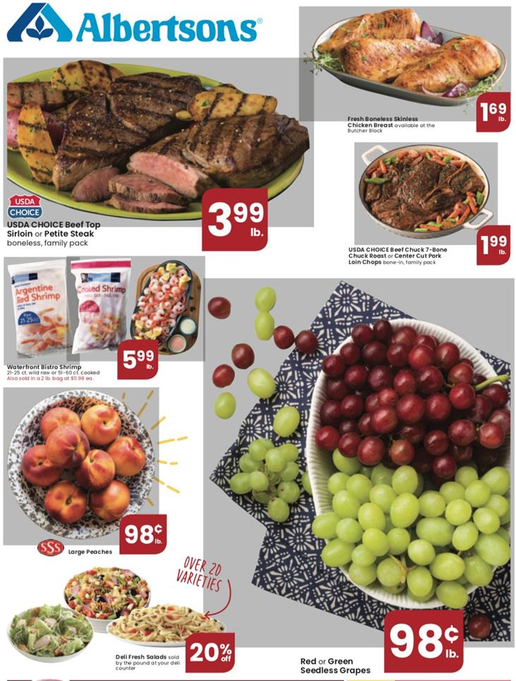 albertsons mid september weekly ad valid from sep 9 15 2020