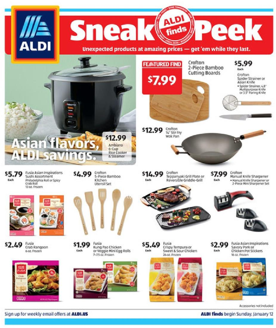 Aldi January Ad In Store Valid From Jan 12 18 2020