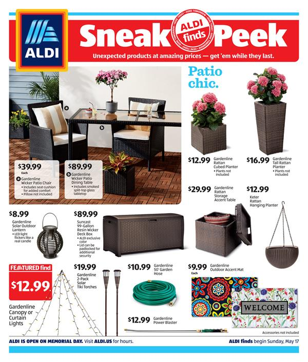 aldi ad in store may 17 2020