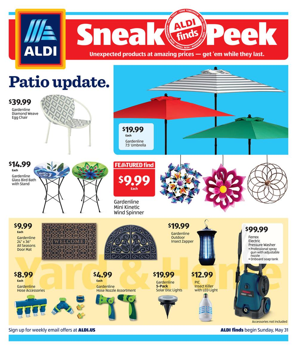 aldi summer products ad valid from may 31 jun 6 2020