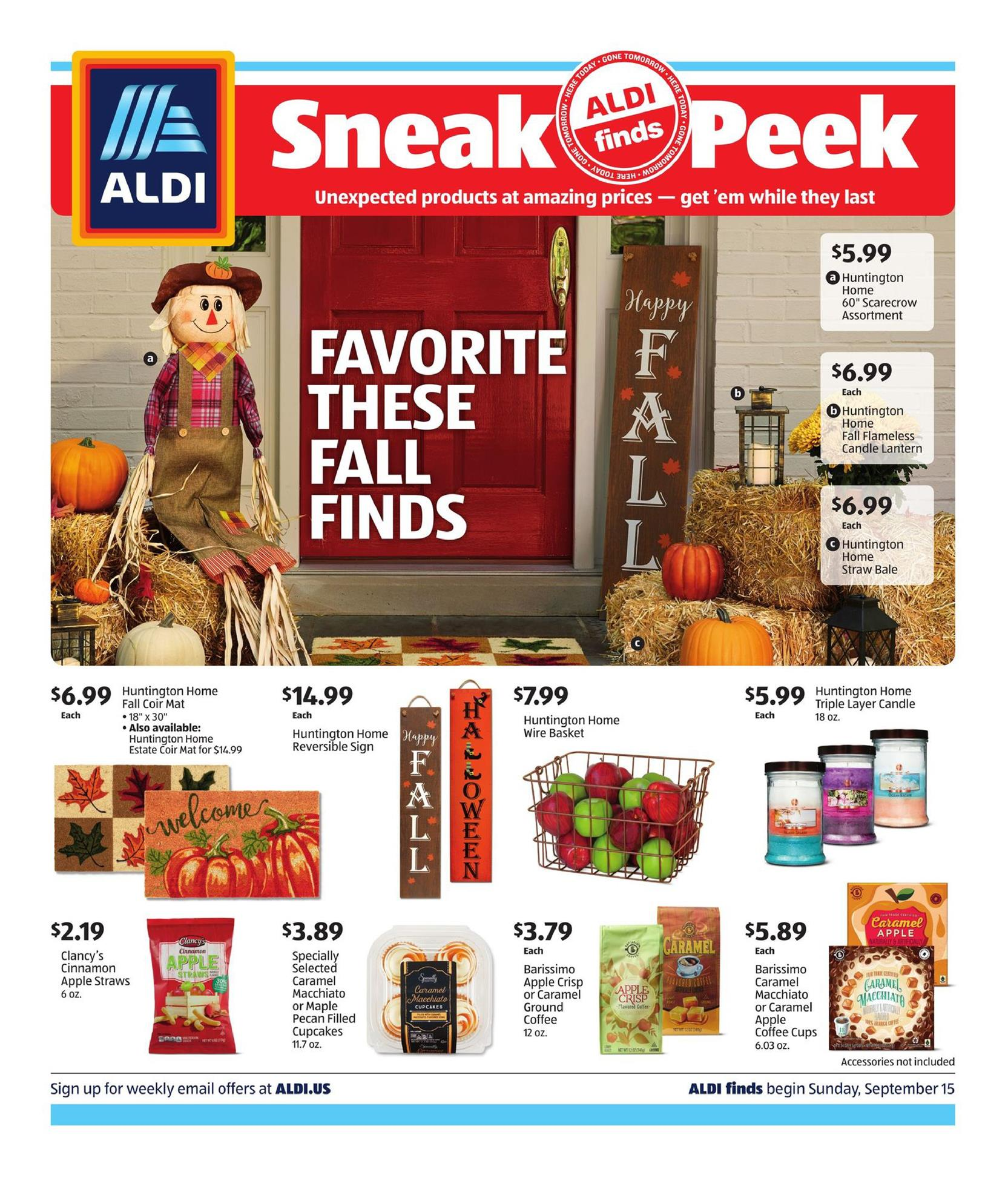 save money with aldi ad in store sep 15 21 2019