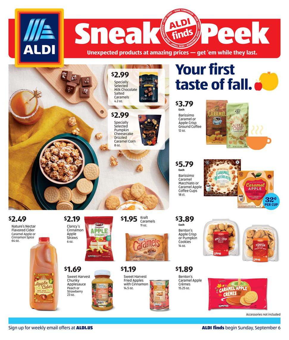 aldi september weekly sale ad valid from sep 6 12 2020