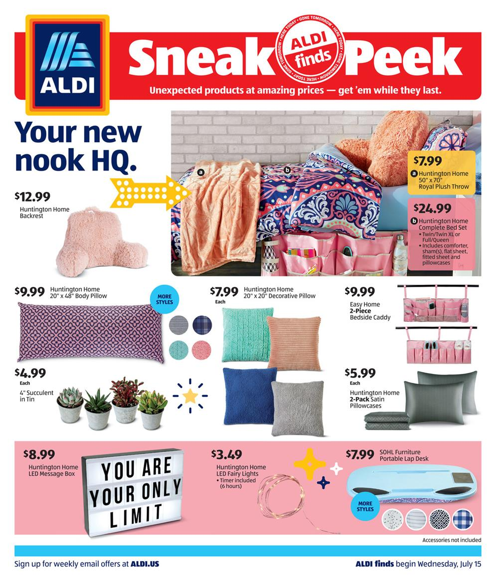 aldi home products july ad valid from jul 15 21 2020