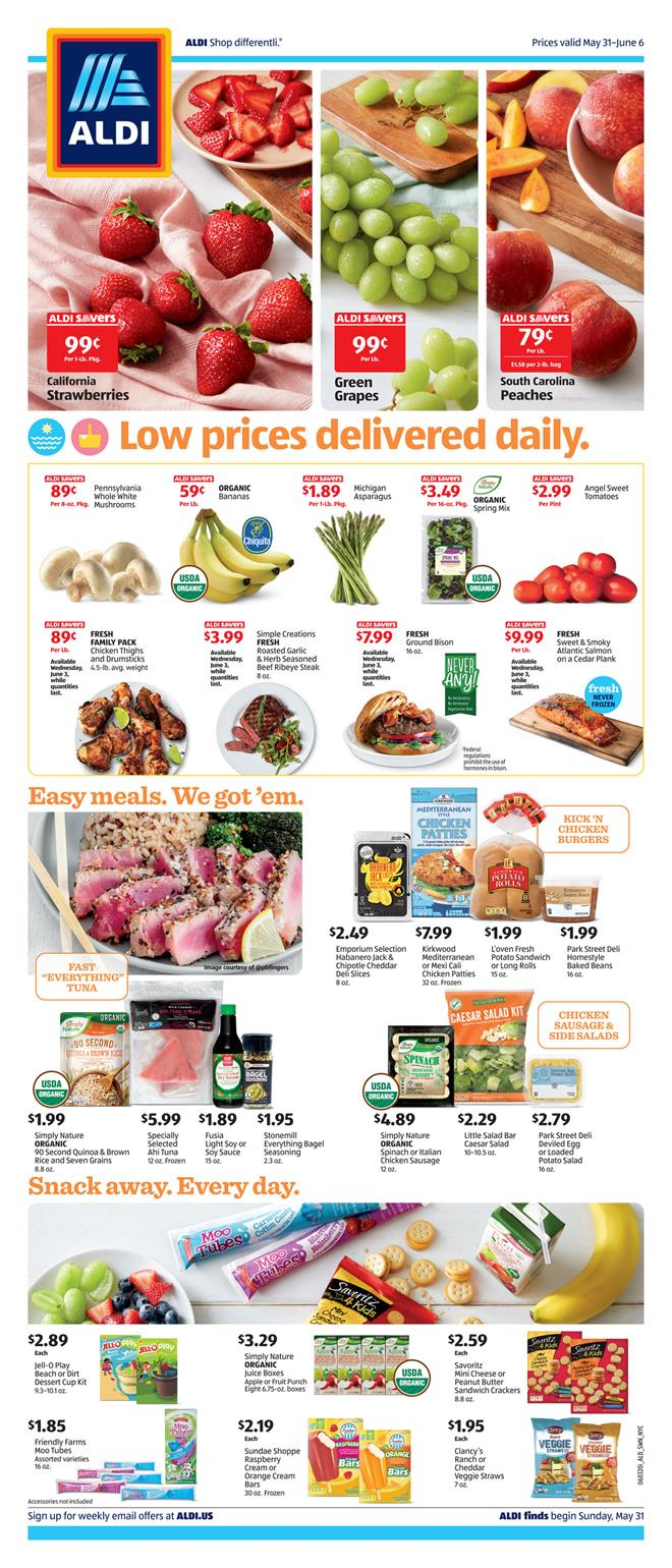 aldi weekly ad may 31 2020