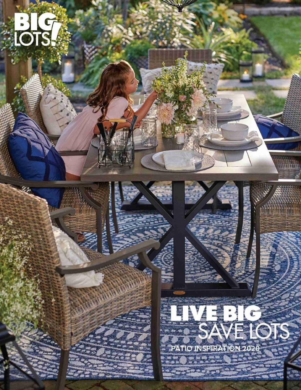 Big Lots June Patio Collection Ad valid in June 2020
