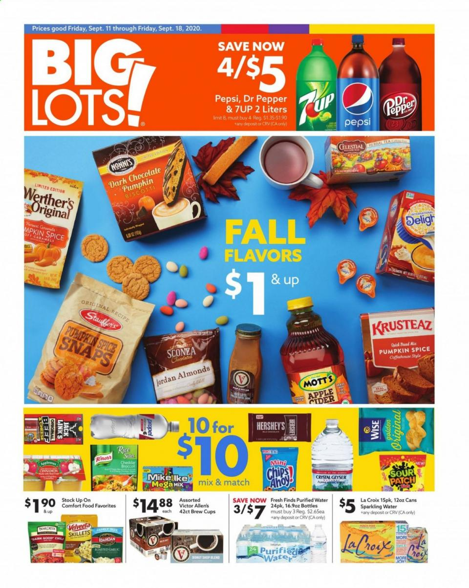 big lots september clearance ad valid until september 18