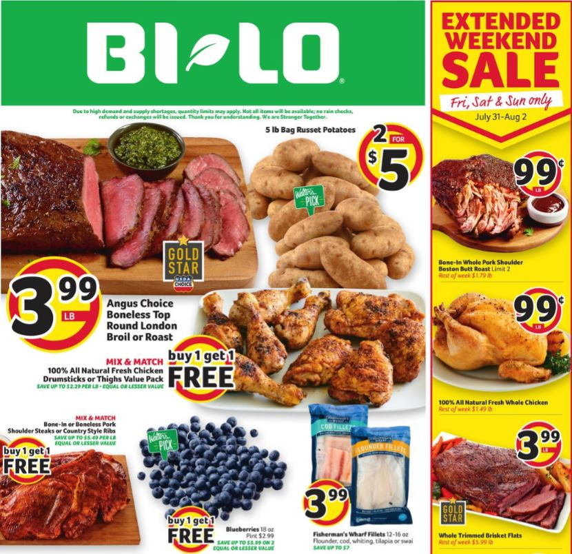 Bilo Weekly August Ad valid from Aug 5 – 11, 2020