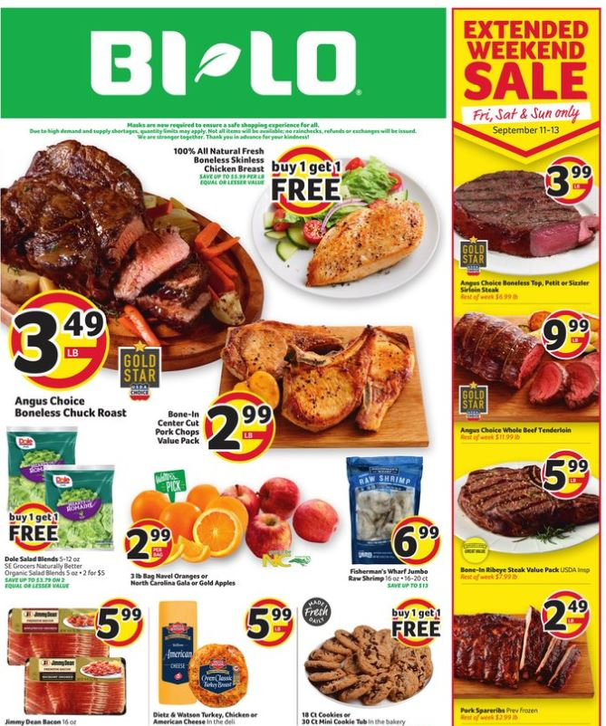 Bilo September Weekly Ad valid from Sep 16 – 22, 2020