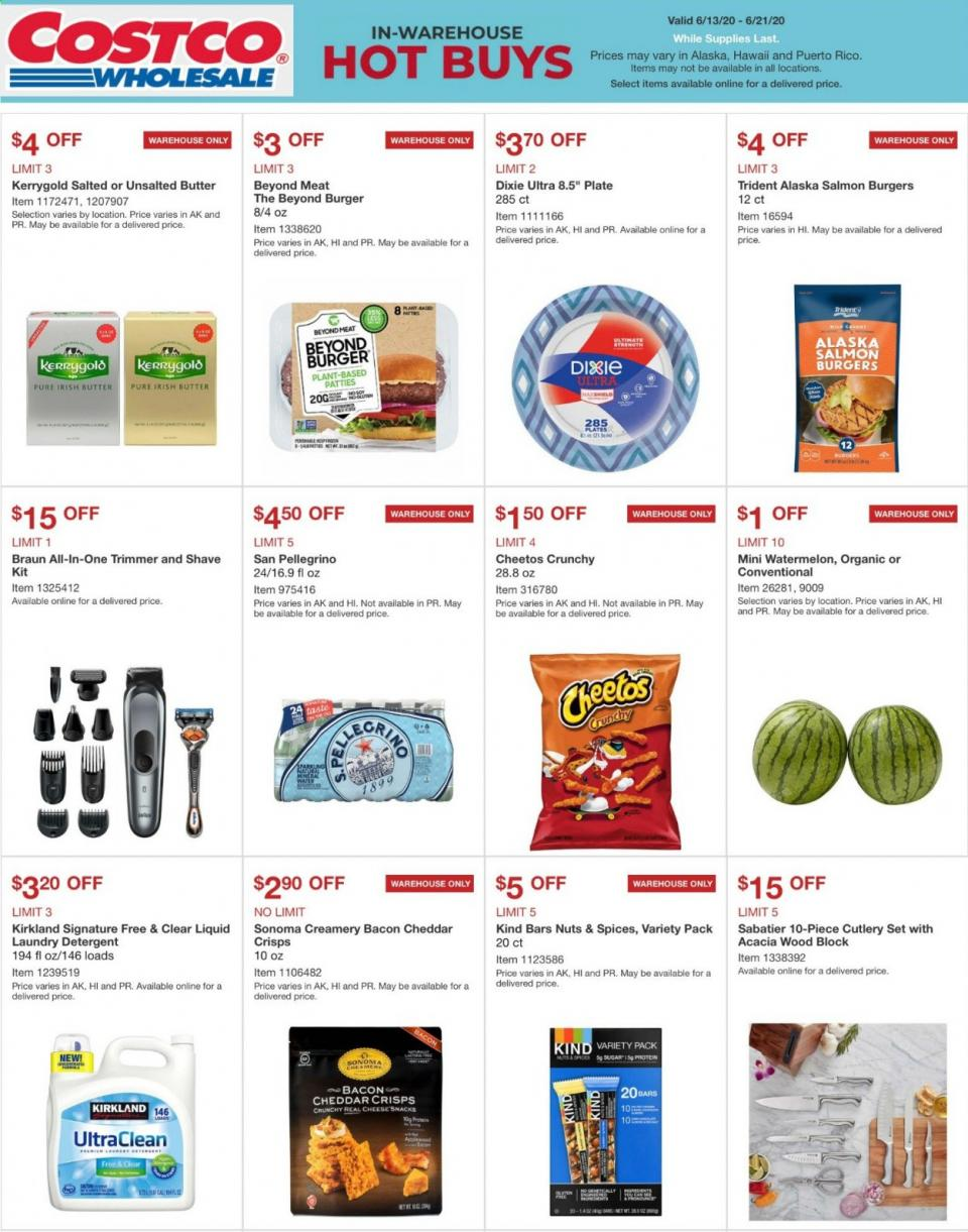 Costco Mid-June Weekly Ad valid from Jun 13 – 21, 2020