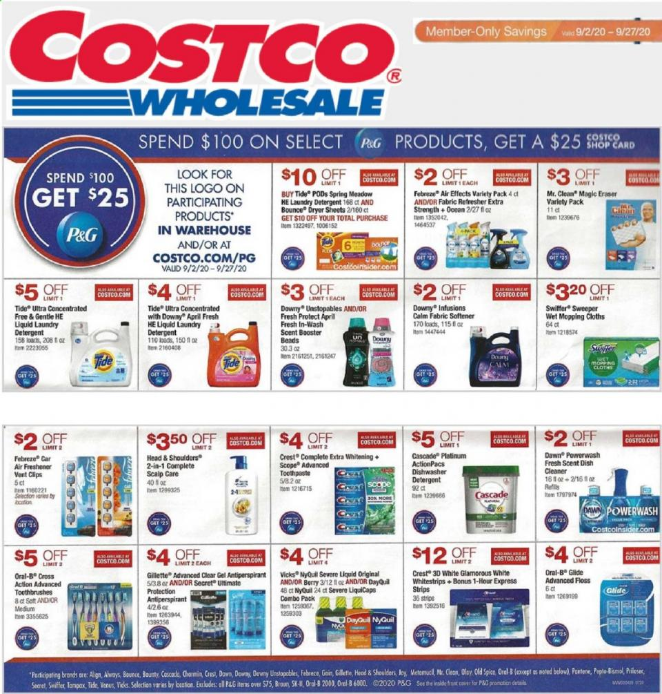 costco ad wholesale 2 sep 2020
