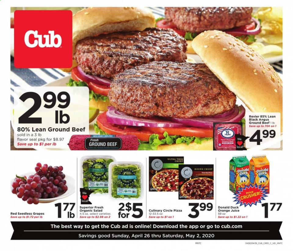 cub foods ad apr 26 may 5 2020