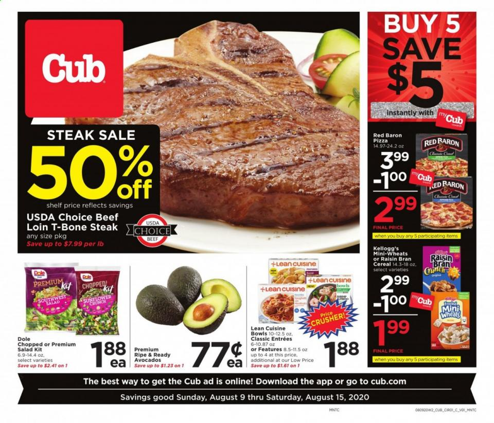 cub foods ad aug 9 2020