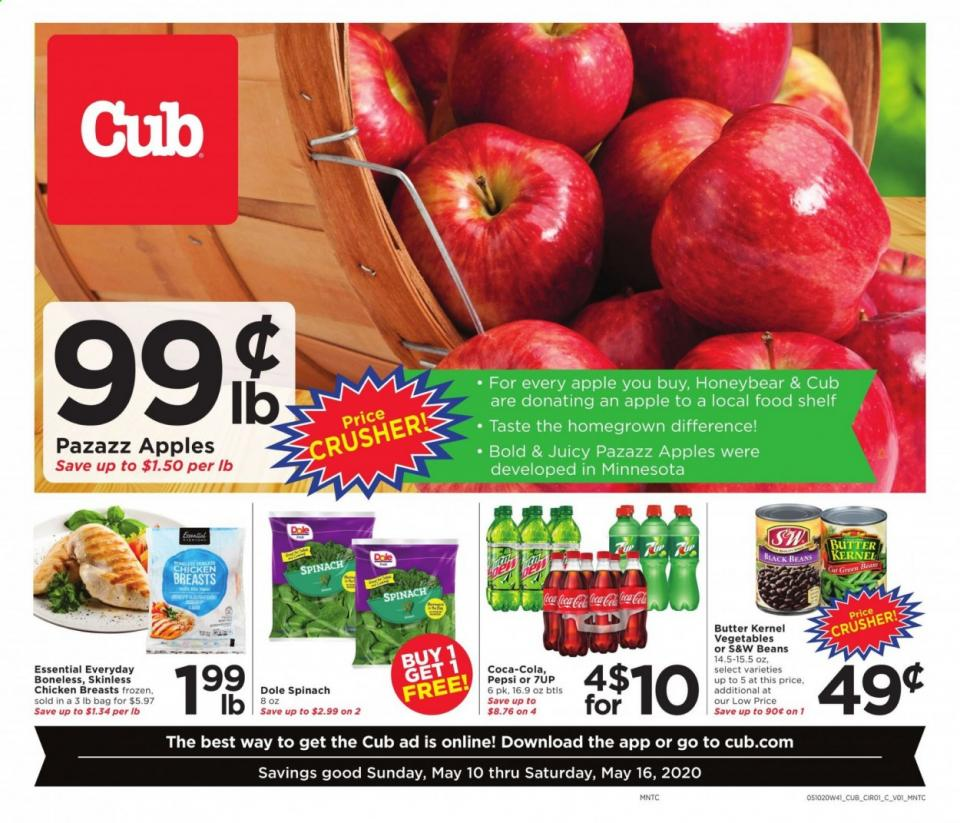cub foods ad may 10 16 2020