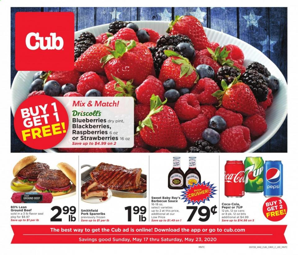cub foods ad may 17 23 2020