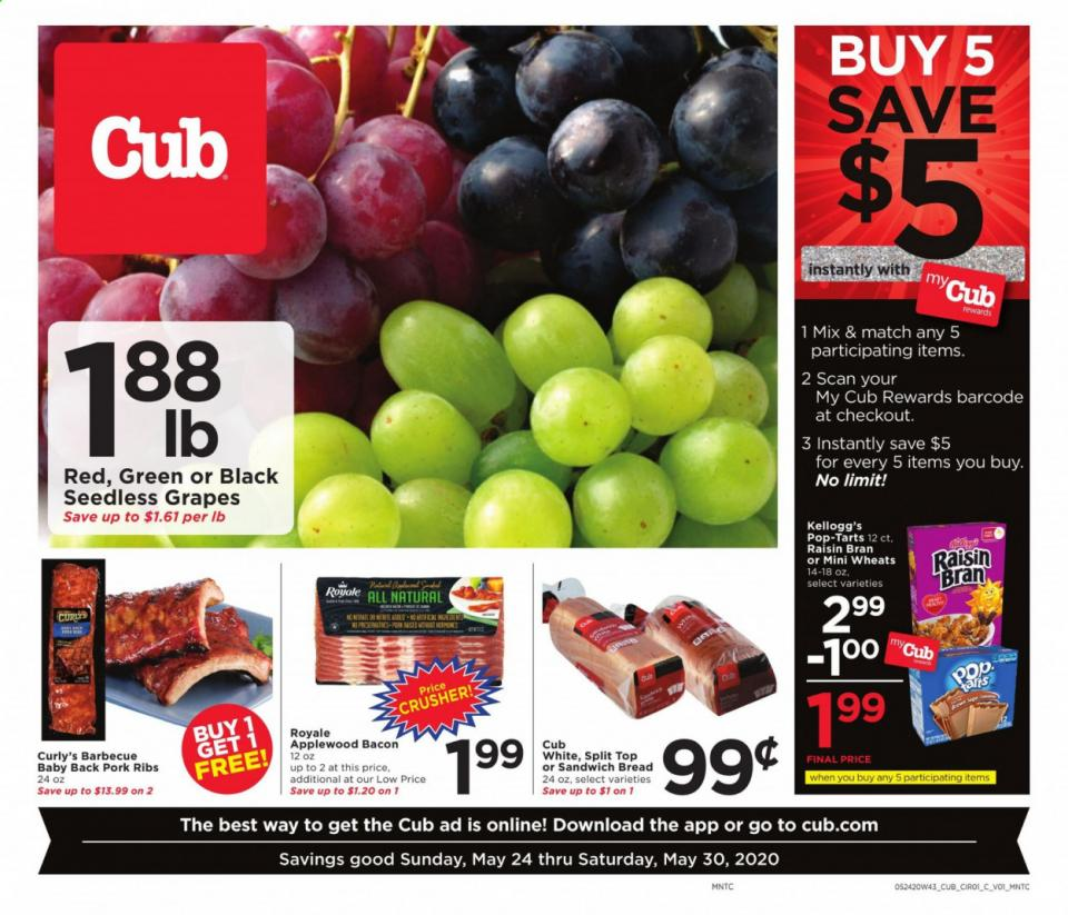 Cub Foods Fresh Produce Final May Ad valid from May 24 – 30, 2020