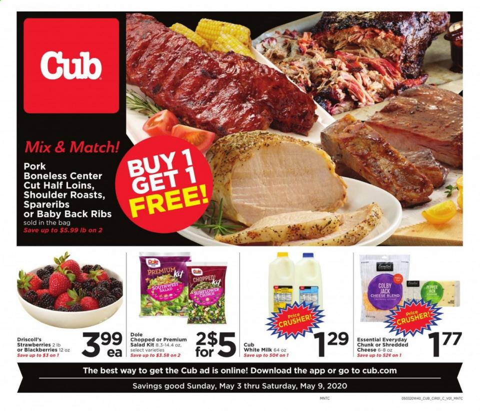 cub foods ad may 3 9 2020