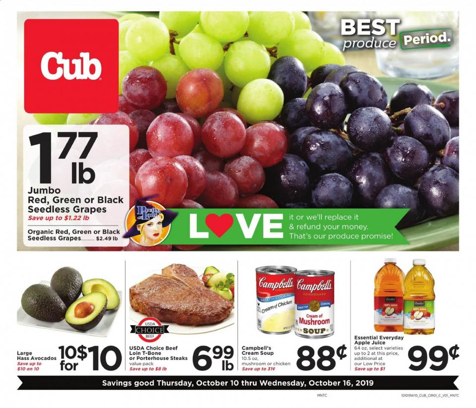 cub foods ad oct 10 16 2019