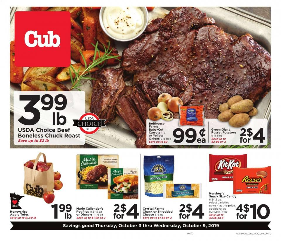 cub foods ad oct 3 9 2019