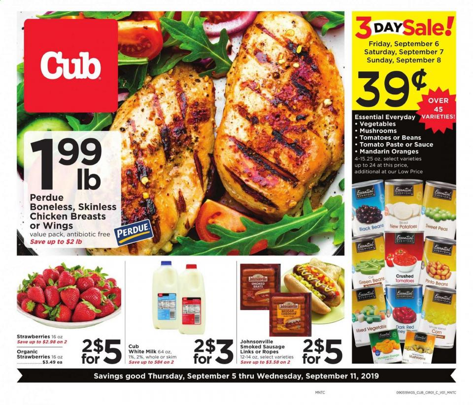 cub foods ad sep 5 11 2019