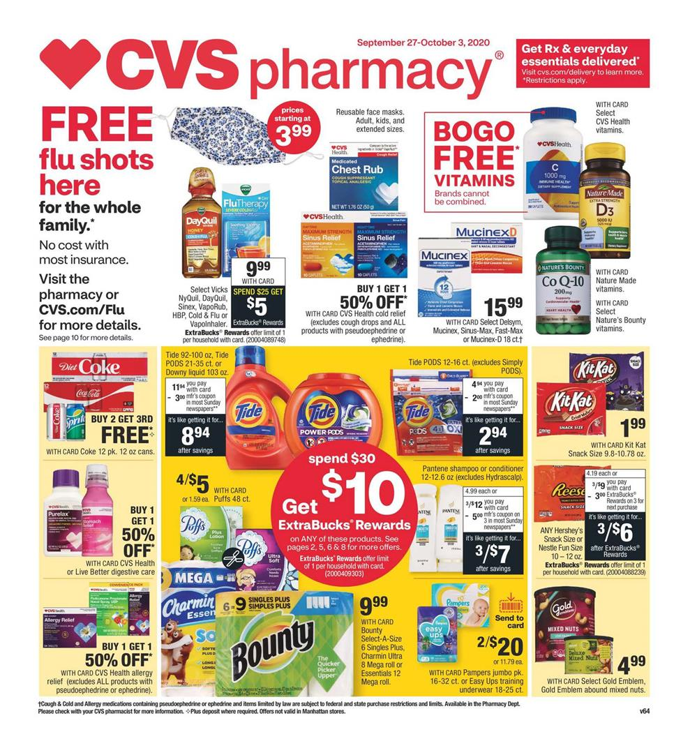 cvs weekly ad sep 27 2020