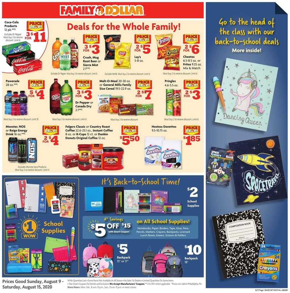 family dollar ad aug 9 2020