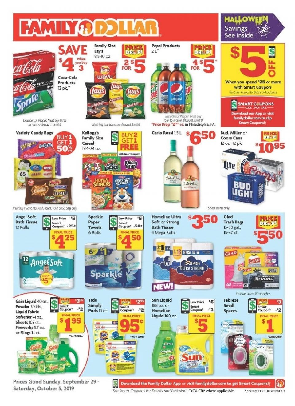 family dollar ad sep 29 oct 5 2019