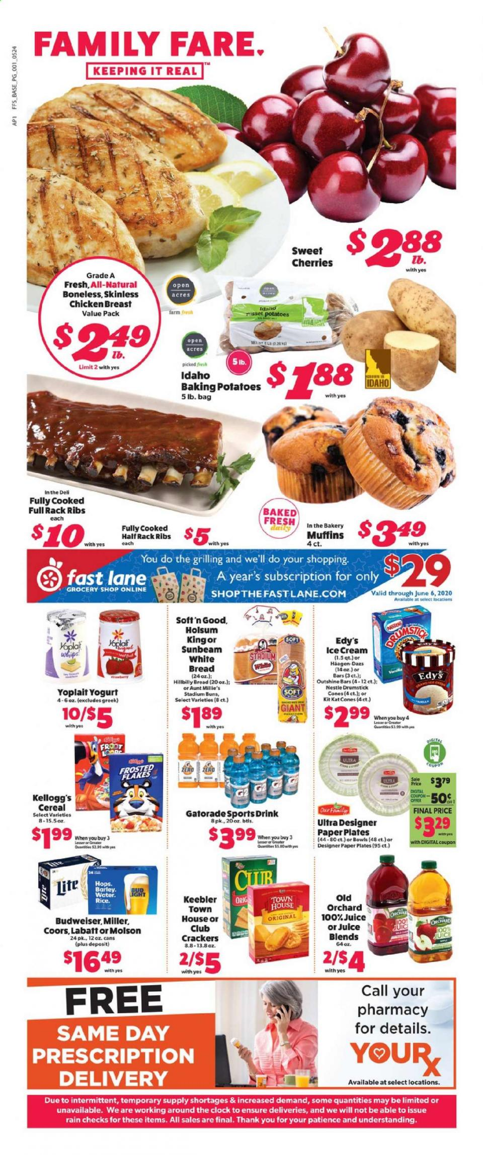 Family Fare Final May Ad valid from May 24 – 30, 2020