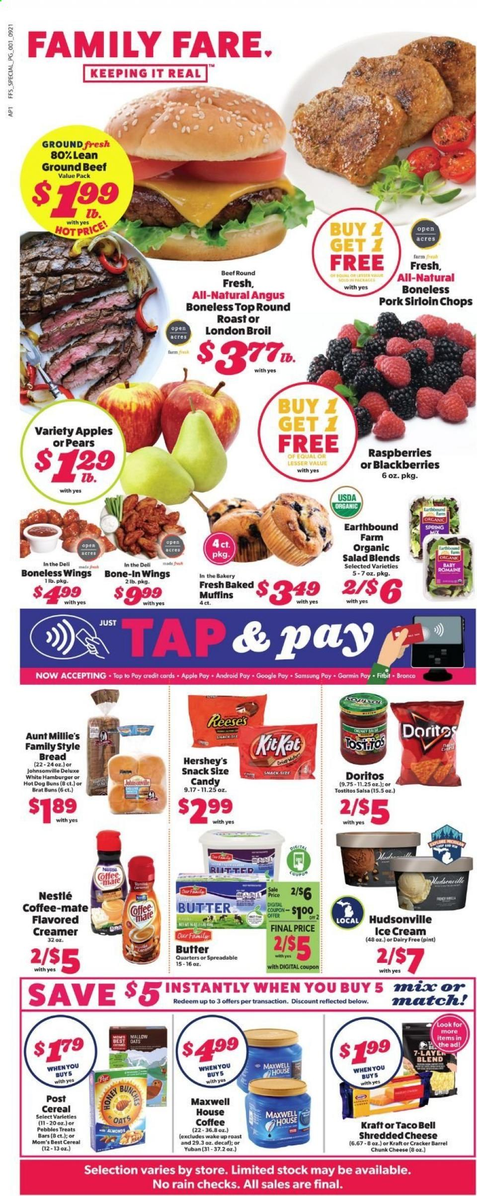 Family Fare Final September Weekly Ad valid from Sep 20 – 26, 2020