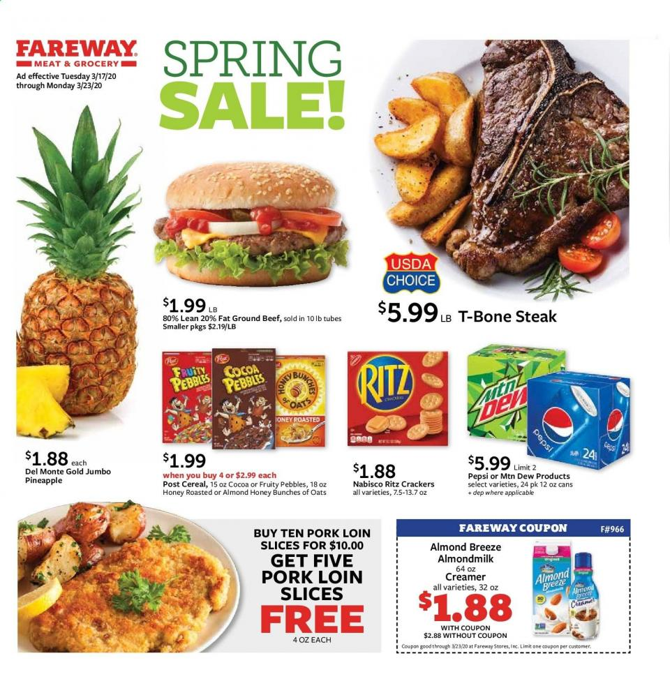 fareway spring sale ad valid from mar 17 23 2020