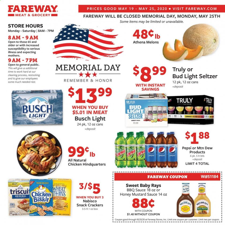 fareway memorial day ad valid from may 19 25 2020
