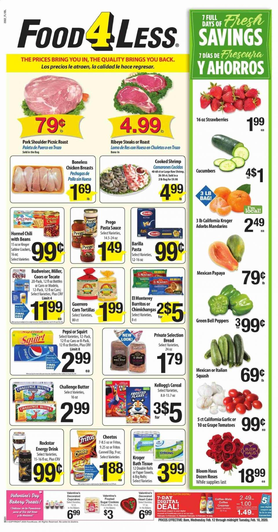 food 4 less mid february ad valid from feb 12 18 2020