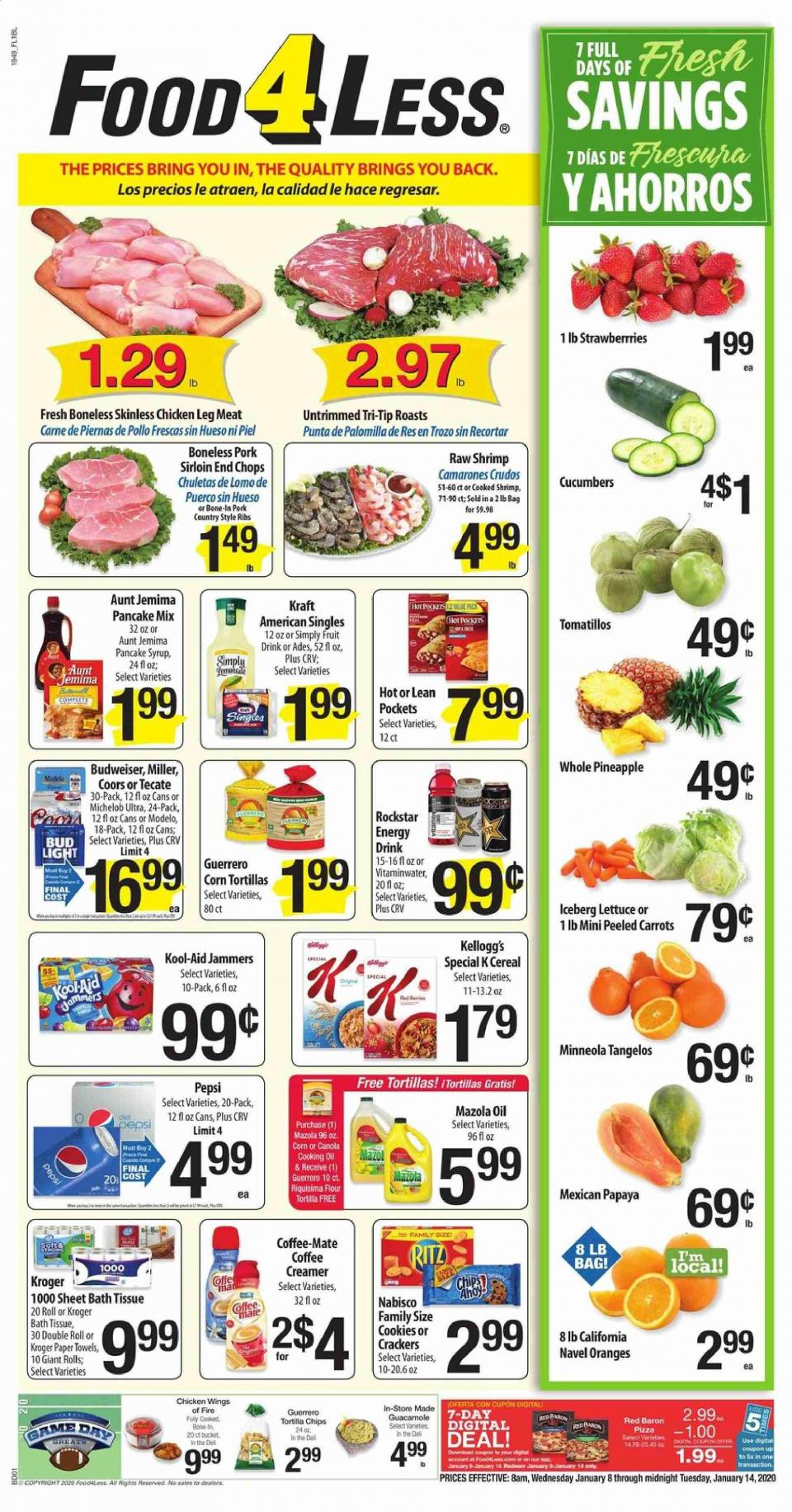 food 4 less ad jan 8 14 2020