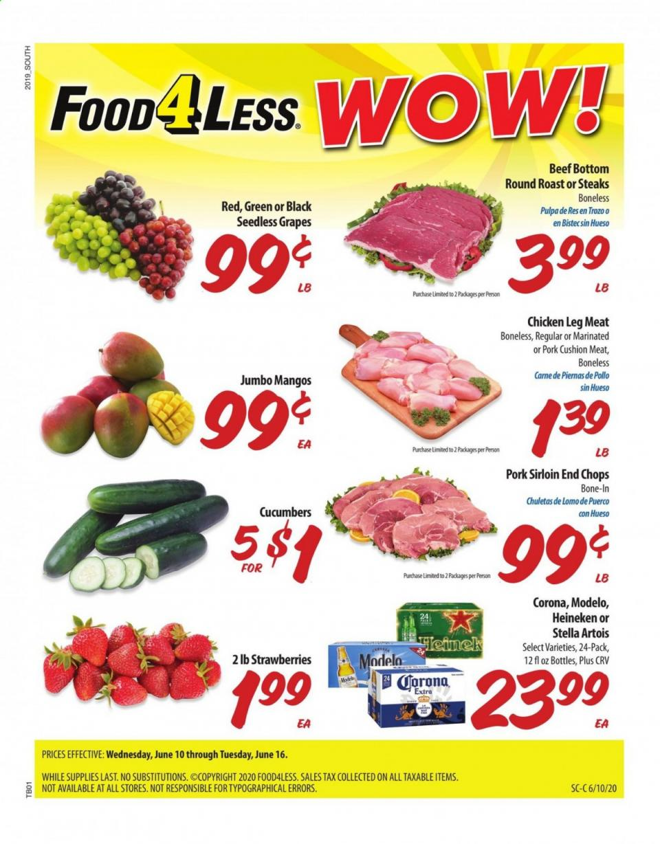 food 4 less mid june ad valid from jun 10 16 2020