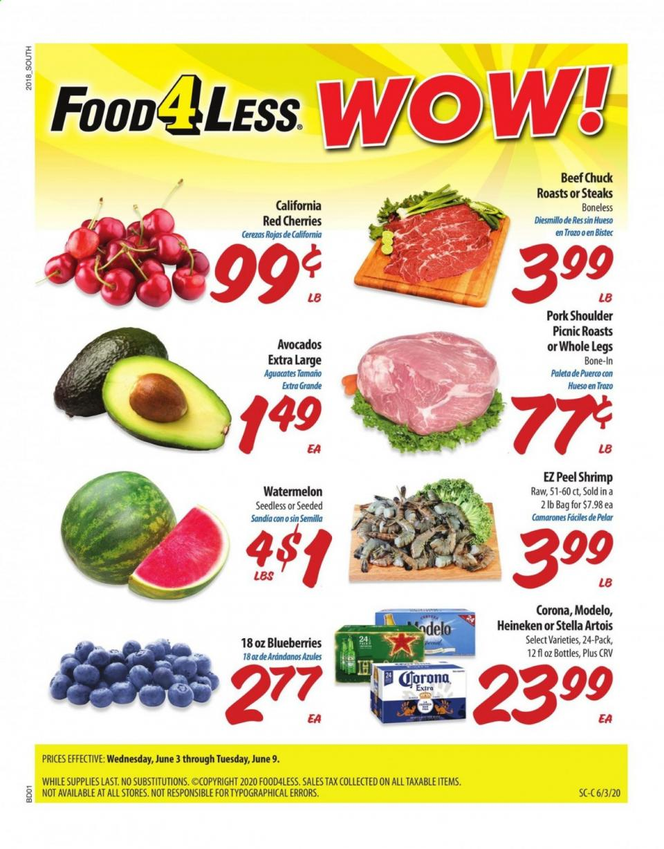 food 4 less june ad valid from jun 3 9 2020