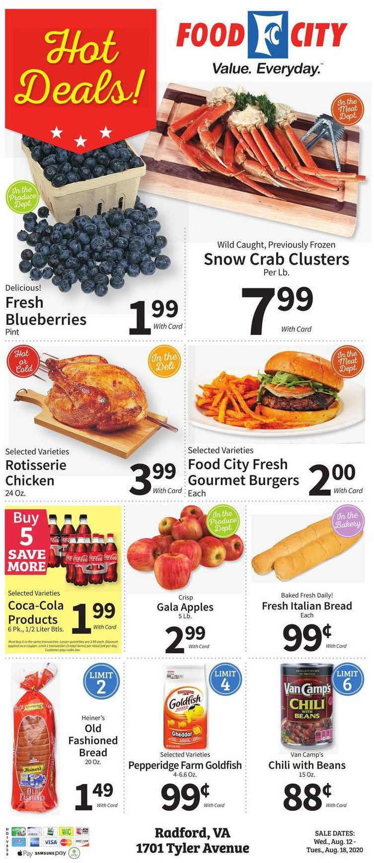 food city weekly august ad valid from aug 12 18 2020
