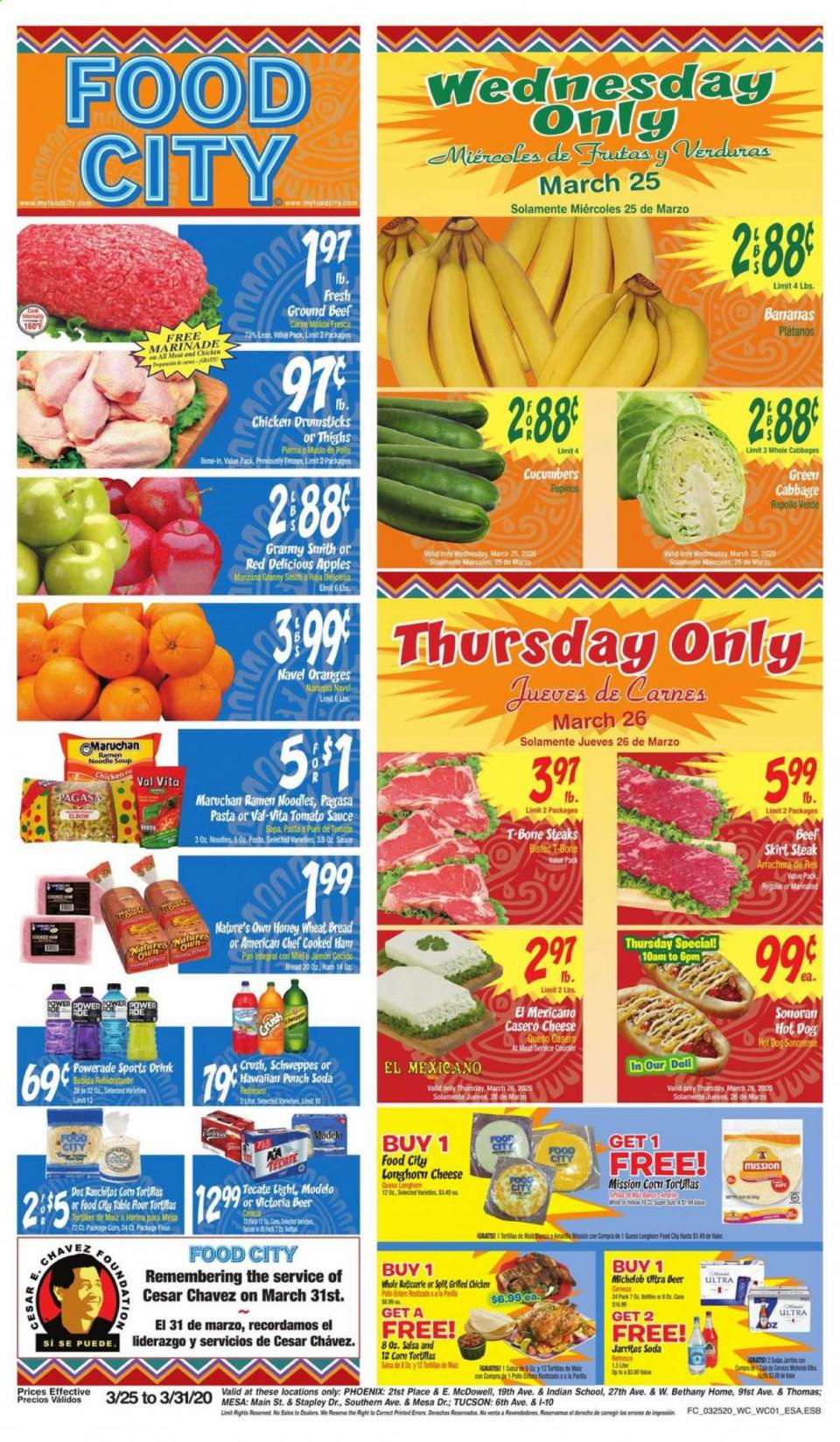 Food City Fresh Produce March Ad valid from Mar 25 – 31, 2020