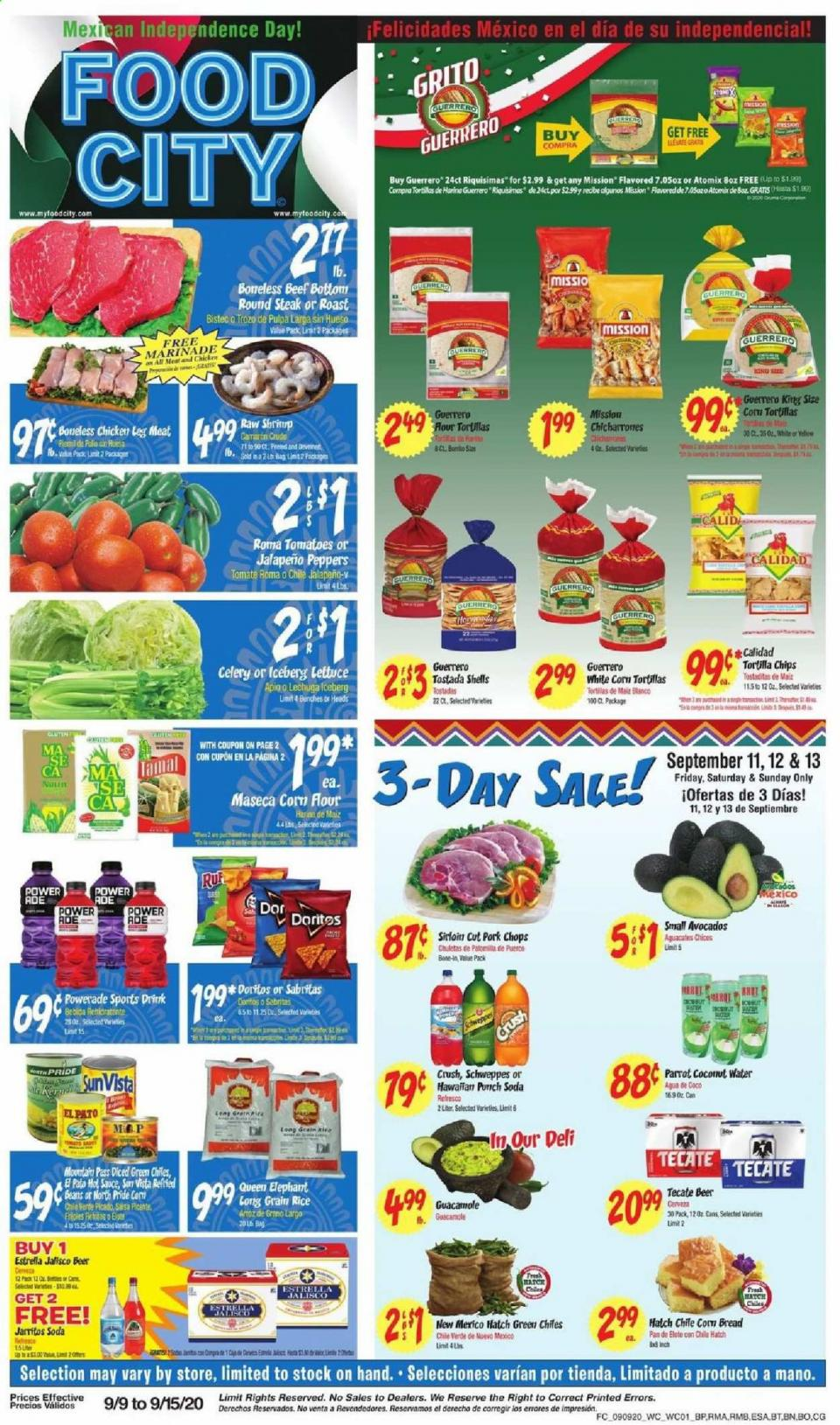 Food City Weekly September Ad valid from Sep 9 – 15, 2020