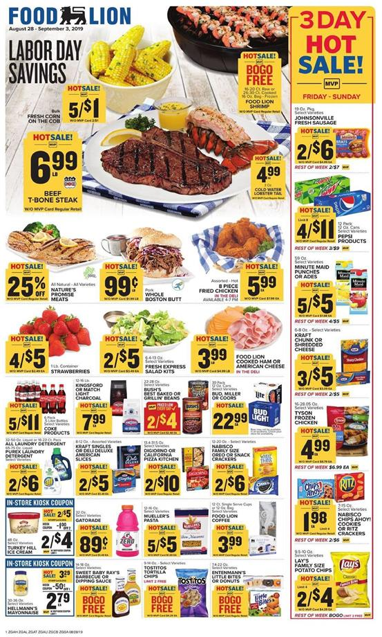 food lion weekly ad aug 28 2019