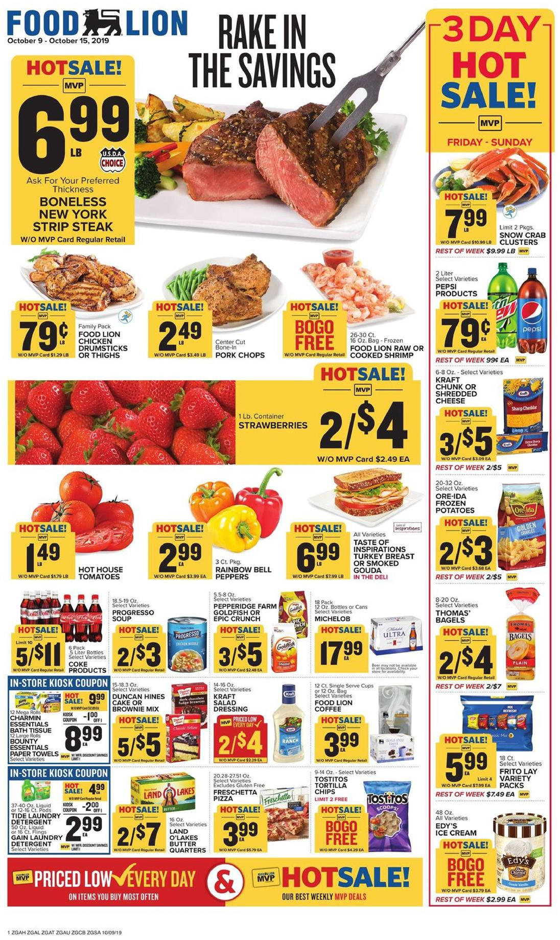 food lion weekly ad oct 9 2019