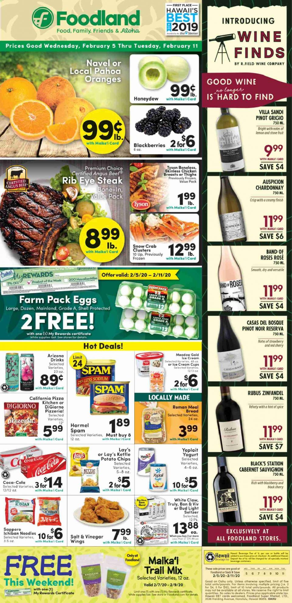 foodland weekly ad feb 5 11 2020