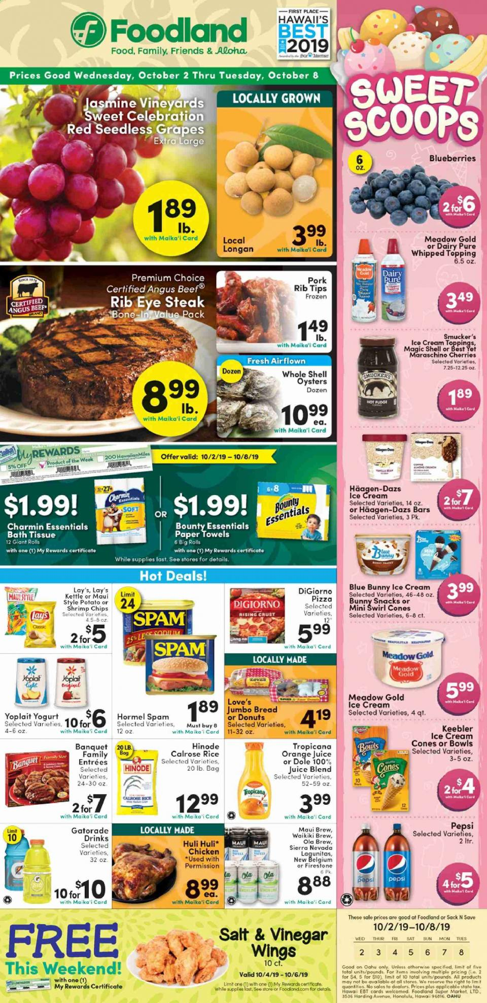 foodland weekly ad oct 2 8 2019