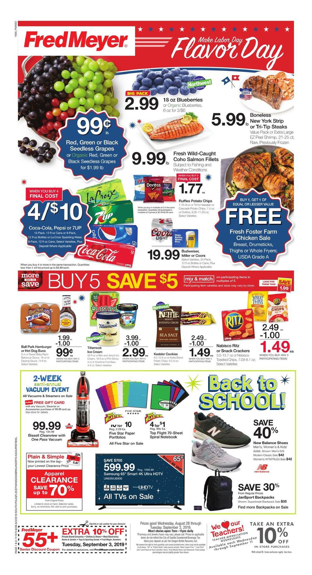 fred meyer ad aug 28 2019
