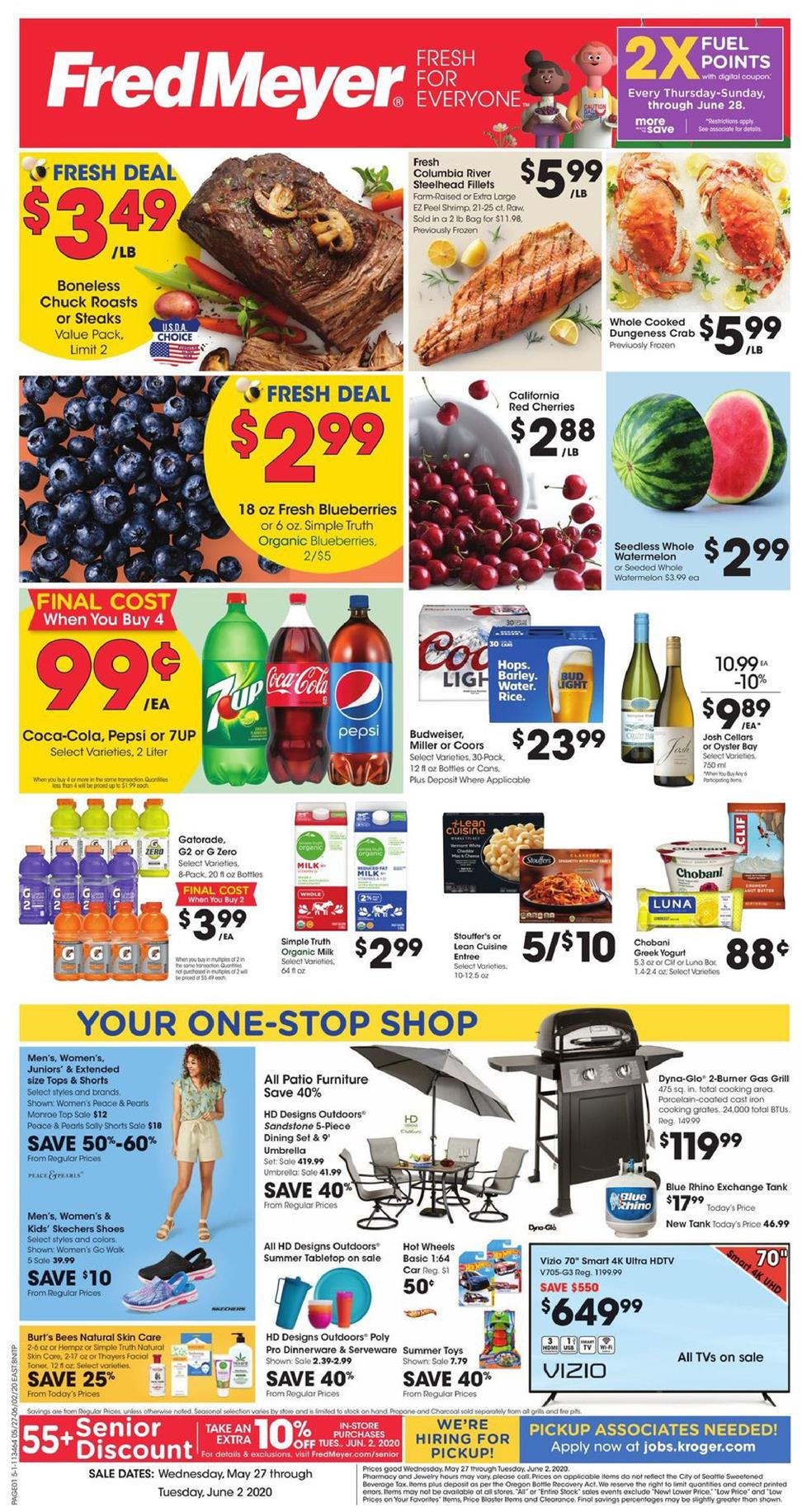 fred meyer ad may 27 2020
