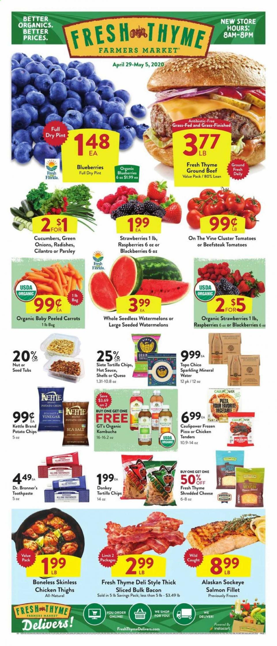 fresh thyme may weekly grocery ad valid from apr 29 may 5 2020