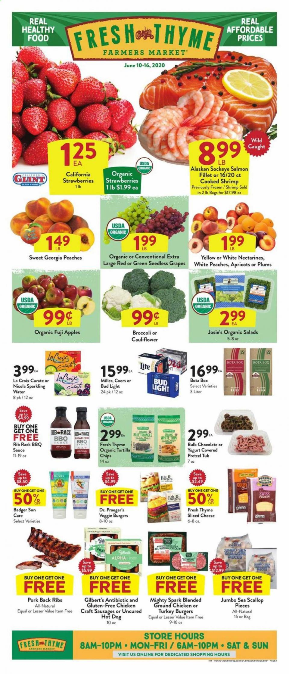 Fresh Thyme Mid-June Ad valid from Jun 10 – 16, 2020