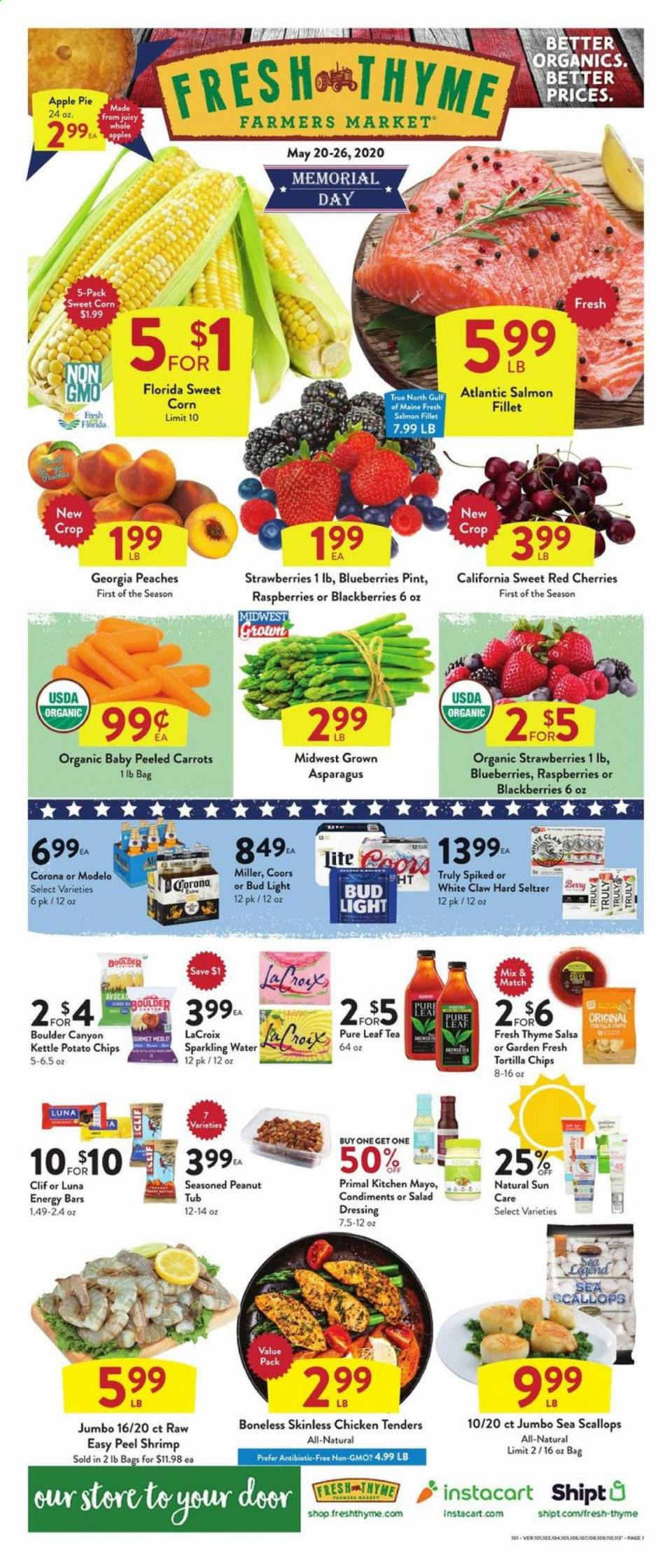 fresh thyme memorial day ad valid from may 20 26 2020