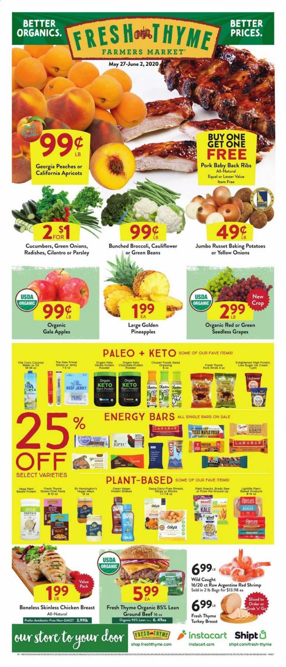 Fresh Thyme Fresh Produce Sale valid from May 27 – Jun 2, 2020